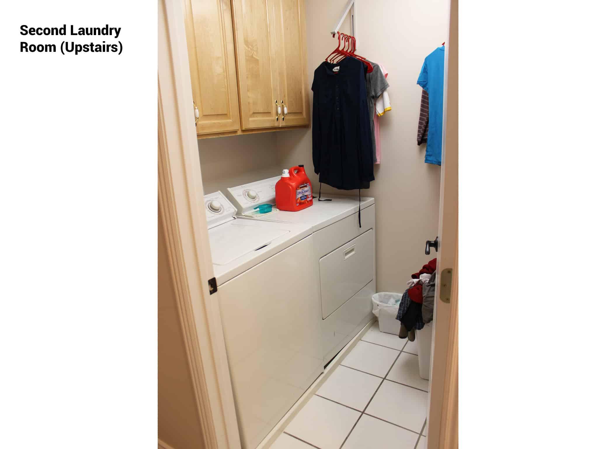 Top floor laundry